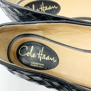 Cole Haan Shoes - Cole Haan, Black Leather Flats Size 8.5 (270)